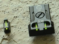 Adjustable rear sight