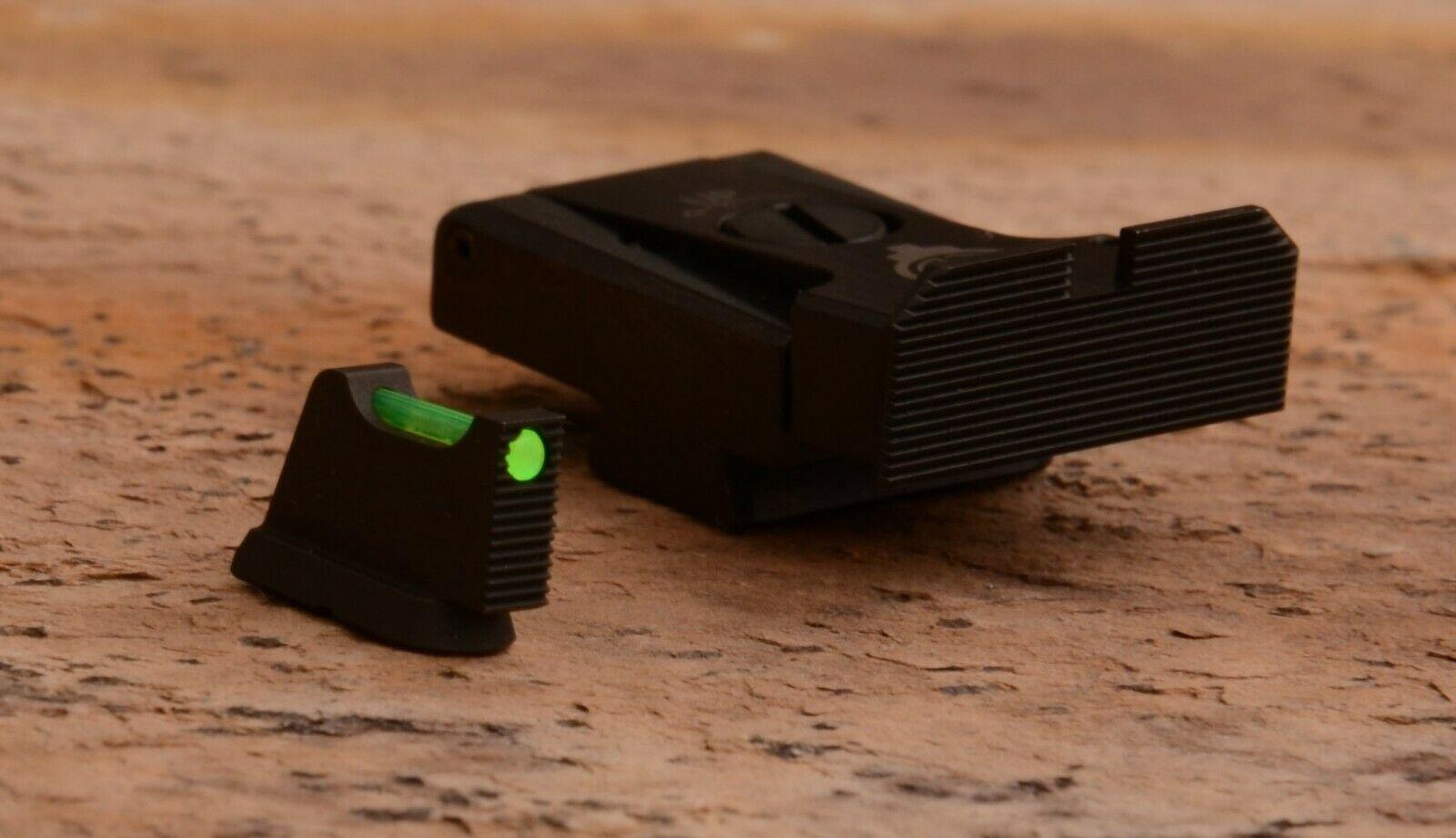 Adjustable Rear Sight Sets with fiber optics for CZ P-10 C