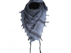 blue/black shemagh scarves