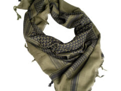 green-black shemaghs scarf