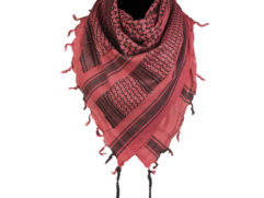 Red shemagh scarves